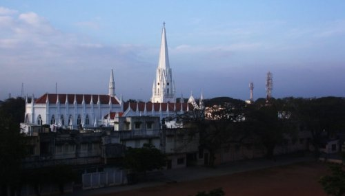 San Thome Cathedral: A minor basilica of no consequence.