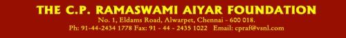 C.P. Ramaswamy Aiyar Foundation
