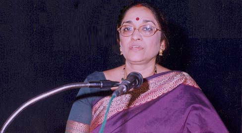 Nandita Krishna: Honorary Director of  C.P. Ramaswamy Iyer Foundation