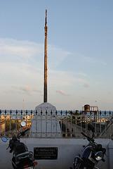 Tom's pole on beach