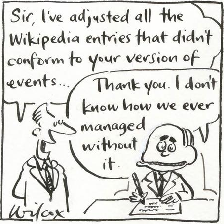 Wikipedia's Truthiness!