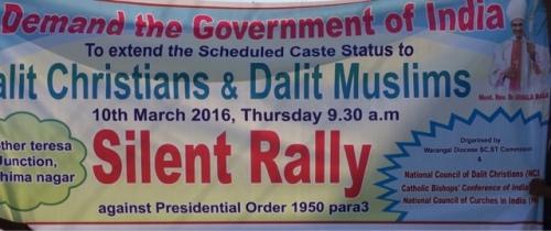 Caste status for Christians