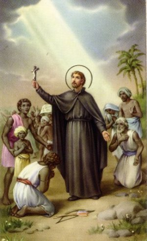 Jesuit missionary Francis Xavier: He invented anti-Brahminism which has been taken over by the Dravidian politicians of Tamil Nadu.