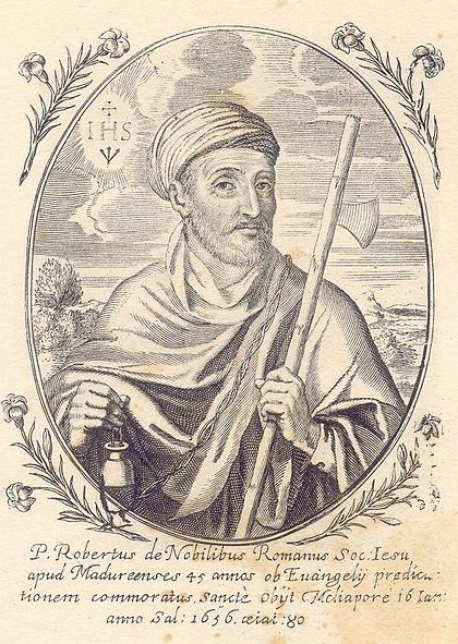 Fr. Roberto de Nobili SJ