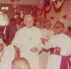 Pope John-Paul II & Archbishop Arulappa
