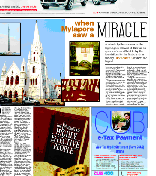 Times of India Feature