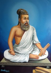 St. Tiruvalluvar: Maybe a Jain, maybe a Tamil Shaivite, but certainly never a Christian