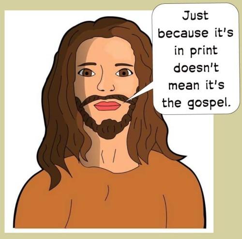 Jesus says ...