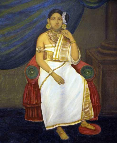 Rani Gowri Lakshmi Bayi of Travancore