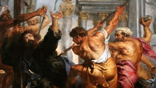 Martyrdom of St Thomas by Peter Paul Rubens (1636)