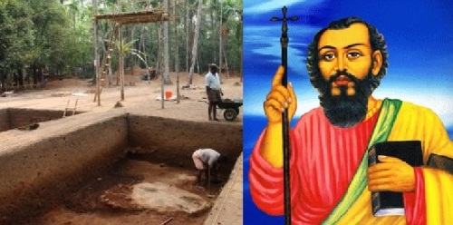 Pattanam dig and St Thomas
