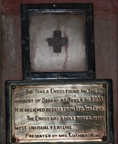 Taxila Cross