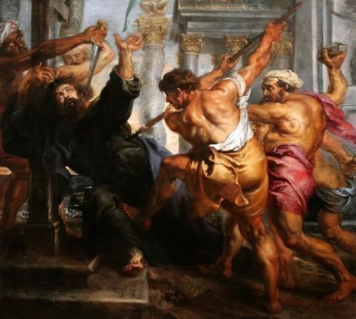 Martyrdom of St. Thomas by Peter Paul Rubens