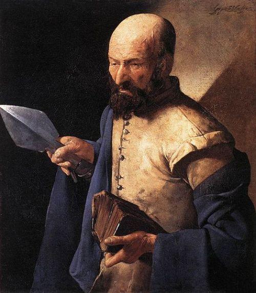 St. Thomas by Georges de LaTour (1625-30)