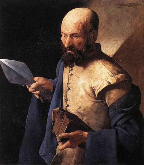 St. Thomas by Georges de LaTour (1625-30)