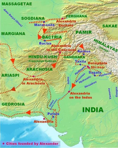 Alexander in Persia-Parthia (Gedrosia)