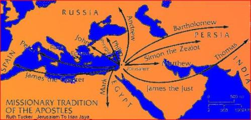 Apostles' Journeys