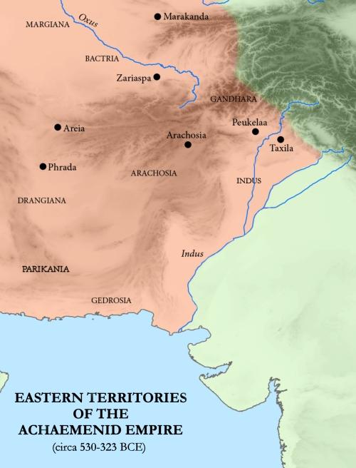 Gondophares ruled Drangiana, Arachosia & Gandhara.