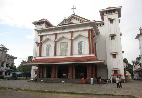 St. Thomas Syro-Malabar Church at Malayattoor in Kerala