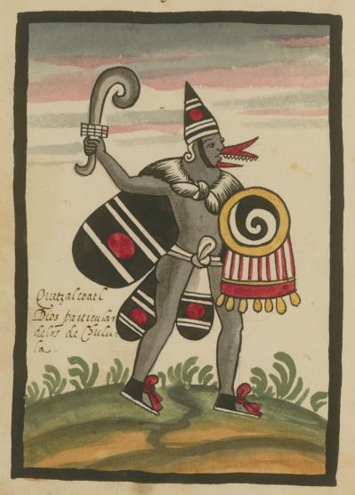 Quetzalcoatl by Jesuit Juan de Tovar