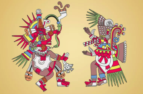 Aztec God Quetzalcoatl : The Mormons believe Quetzalcoatl was Jesus and the Jesuit missionaries made him out to be the apostle St. Thomas.