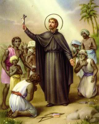St. Francis Xavier in Goa.