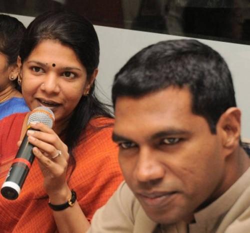 Kanimozhi & Jegath Gaspar Raj