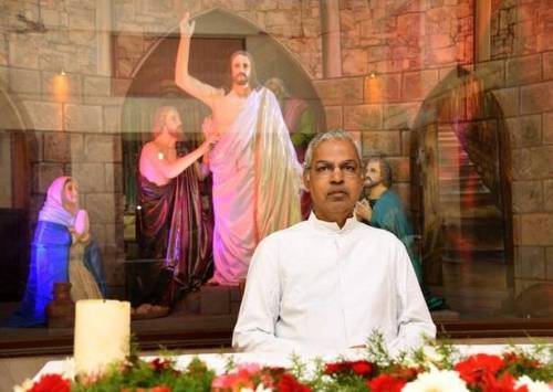Fr. Lawrence Raj: He spends crores turning Chennai (Madras) churches into Disney-style Thomas tableaus that depict Hindus as assassins. And the money rolls in!