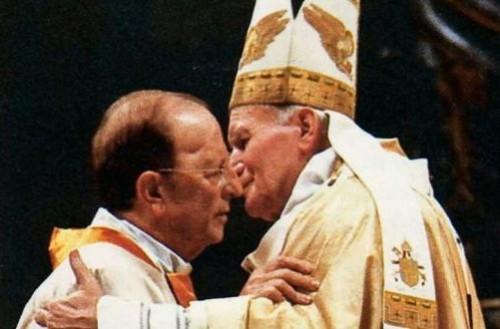 Marcial Maciel & John Paul II