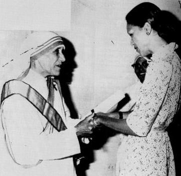 Mother Teresa & Michele Duvalier