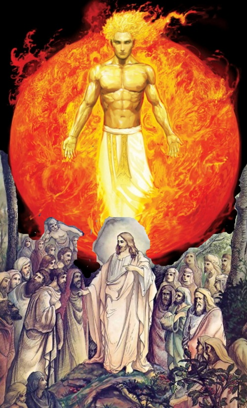 Jesus is Pagan sun god made into Jewish messiah.