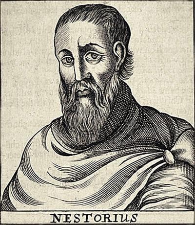 Nestorius (386–450) was the Patriarch of Constantinople.