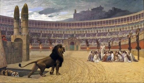 The Christian Martyrs' Last Prayer by Jean-Léon Gérôme