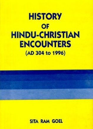 History of Hindu-Christian Encounters Cover