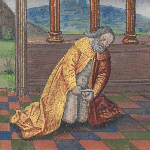 Self-circumcision of Abraham