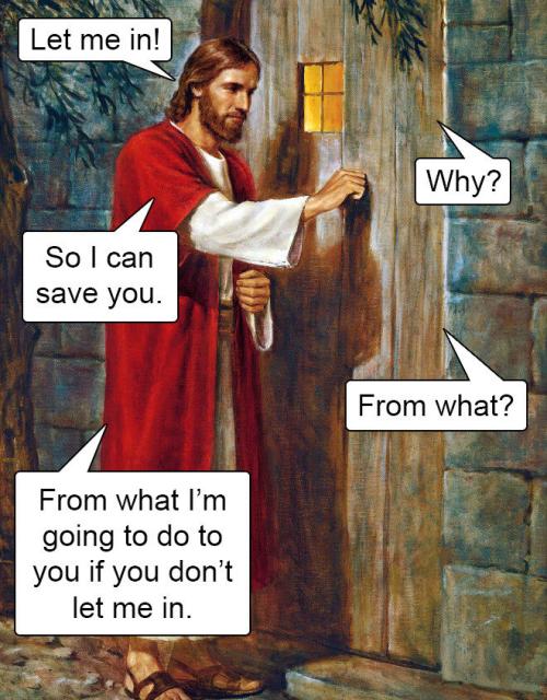 Jesus says what?
